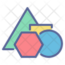 Shapes School Triangle Icon
