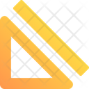Geometry Ruler Drawing Icon