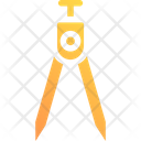 Geometry Divider Drawing Icon