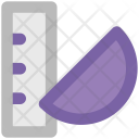 Geometry Measure Ruler Icon