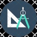 Geometry Set Square Icon