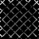 Geometry Measuring Protractor Icon