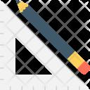 Geometry Pencil Set Icon