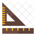 Geometry Tool Ruler Scale Icon