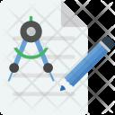 Geometry Tool Protractor Icon