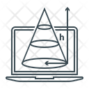 Geometry Trigonometry Geometry Drawing Icon
