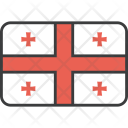 Georgia Georgian European Icon