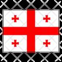 Georgia Flag Flags Icon