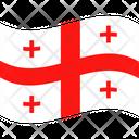 Flag Country Georgia Icon