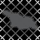 Georgia Tbilisi Geography Icon