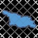 Georgia Map Country Icon