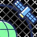 Satellite Artificial Geo Icon