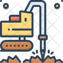 Geotechnic Geotechnical Drilling Icon
