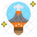 Igeothermal Green Energy Geothermal Icon