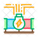 Geothermal Energy Pipe Icon