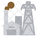 Power Plant Geothermal Icon