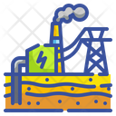 Geothermal Power Ecology Environment Icon