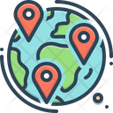 Geotracking Icon