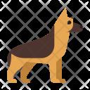 German Shepherd Animal Icon