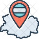 German Country Location Icon