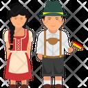German Outfit German Clothing German Dress Icon