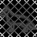 German Shepherd Dog Alsatian Icon