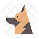 German Shepherd Police Dog Icon