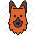 German Shepherd Dog Puppy Icon
