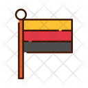 Germany Germant Flag National Flag Icon