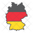 Germany Country Geograpgy Icon