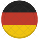 Germany Flag Circle Icon