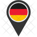 Germany Location Pointer Icon