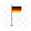 Germany Flag Country Flag Sign Icon