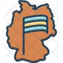 Germany Map Icon