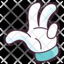 Gesticulation Hand Gesture Hand Indicator Icon