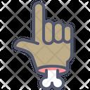 Approve Bone Gesture Icon