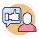 Get Feedback Feedback Likes Icon