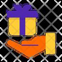 Get Reward Money Bag Birthday Gift Icon