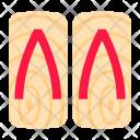 Geta Paduka Icon