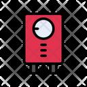 Geyser Heater Measure Icon