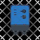 Geyser Heater Water Icon