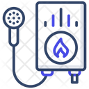 Water Geyser Electronic Water Boiler Icon