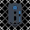 Geyser Appliance Electrical Icon