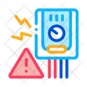 Geyser Short Circuit Icon