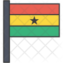 Ghana African Country Icon