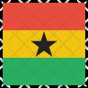 Ghana National Country Icon