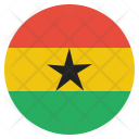 Ghana National Country Icon