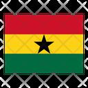 Ghana Flag Flags Icon