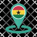 Ghana Flag Icon