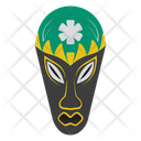 Ghana Mask African Culture Tribal Mask Icon
